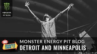 2014 Monster Energy Pit Blog 11 - Detroit and Minneapolis