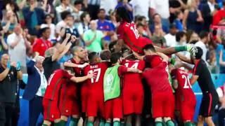 Euro 2016 Éder Portugal vs França  Relato Antena