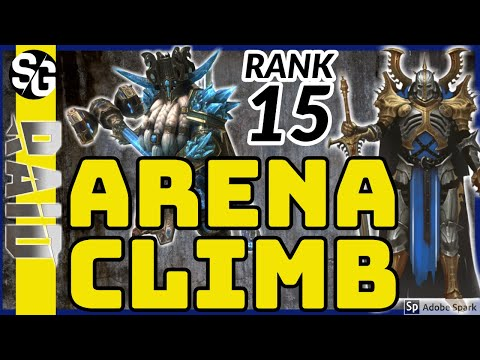 RAID SHADOW LEGENDS | ARENA CLIMB RANK 15 VS HEGEMONS | TORMIN | IMMUNITY ARTIFACTS