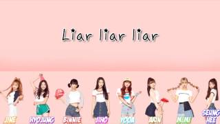 Oh My Girl (오마이걸) - Liar Liar Color Coded Lyrics [HAN/ROM/ENG]