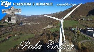 Pala eolica Borgotaro - DJI Phantom 3