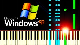 WINDOWS XP SONATA - Piano Tutorial