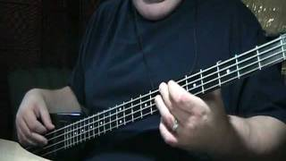 The Cars Just What I Needed Bass Cover