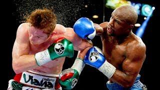 Floyd Mayweather Jr. vs Canelo Alvarez - Highlights (Mayweather SCHOOLS Canelo) width=