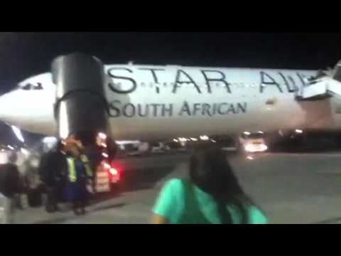 D.Kim in South Africa: Getting On The Plane