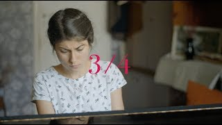 3/4 (three quarters) trailer
