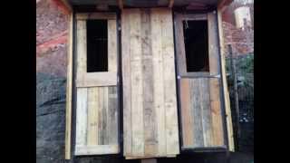 Come costruire un pollaio -- How to build a chicken coop