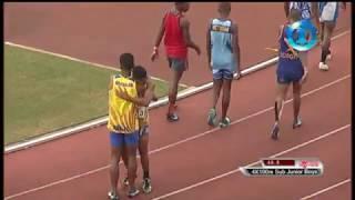 Coke Games Sub Jnr Boys 4x100m final 2017