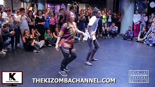 Afro House Dance Routine Iron Mams feat. Nadia at 1st Korea Kizomba Festival 2018