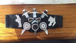 Aj Styles custom mask