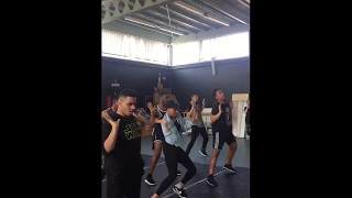 Royal Family Dance Crew Workshop London - Rihanna Rude Boy (Rino Sambo & Mimi DanceHall Flip)