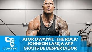 Ator Dwayne 'The Rock' Johnson lança app grátis de despertador motivacional