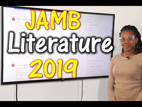 JAMB CBT Literature in English 2019 Past Questions 1 - 20