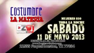 Costumbre en Concierto FRONTERA VIVO BAR HOUSTON TX SABADO 11 DE MAYO
