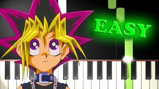 YU-GI-OH! THEME SONG - Easy Piano Tutorial