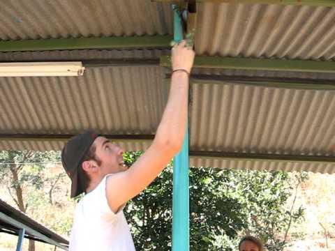 Michael Phelps helping around El Canon JMU NOF 2010