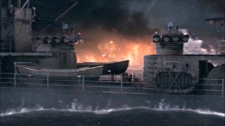 2nd World of Warships Main Menu Video - Official Game Release (No Markings)