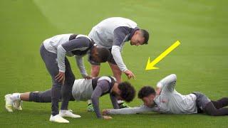 Funny Moments in Training ● Salah, Mbappe, Ronaldo