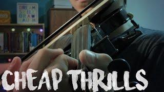 CHEAP THRILLS // Violin cover by Josy Fischer