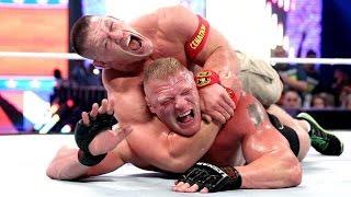 John Cena vs Brock Lesnar - WWE Summerslam 2014 [Photos]