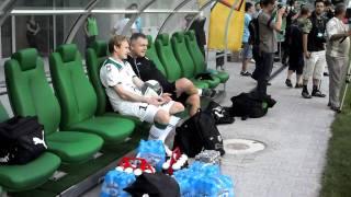 Sebasian Mila na nowym stadionie we Wrocławiu (HD)
