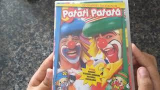 Unboxing - DVD Os grandes sucessos de Patati Patatá (1° tiragem)