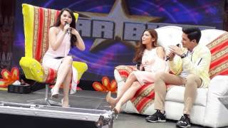 ALDUB Live on Sunday Pinasaya : Kulitan with Barbie(Off Camera) Maine Mendoza x Alden Richards