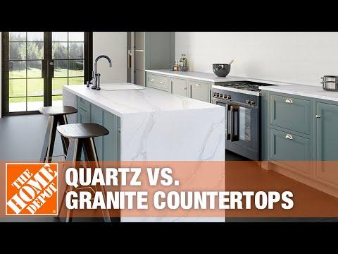 Quartz vs. Granite Countertops