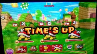 Puzzle & Dragons Super Mario Bros Edition - Time's Up!