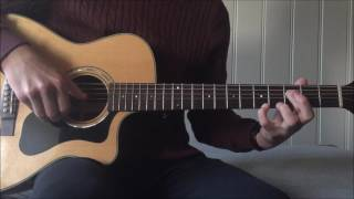 How to play Oh Lord by MiC LOWRY on guitar