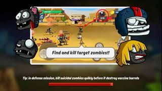 Stick vs zombie - Stickman warriors - Epic fight  Android Gameplay