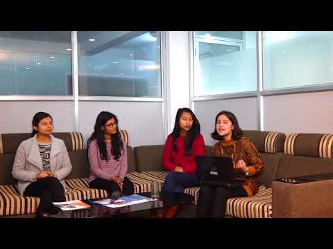Drishya Bhattarai, Ashna Manandhar , Anuska Sharma & Dipti Gyawali