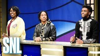 Black Jeopardy with Chadwick Boseman - SNL width=