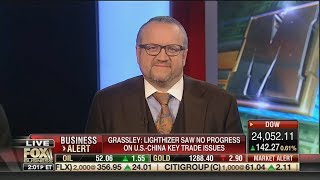 David L. Bahnsen on Fox's Charles Payne - JP Morgan, Market Liquidity,  China, and CLO's.