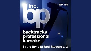 The Way You Look Tonight (Karaoke Instrumental Track) (In the Style of Rod Stewart)