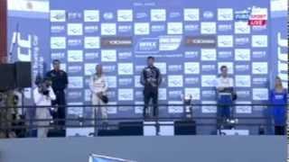 Himnusz-baki az argentin WTCC fordulón
