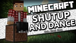 [WIRELESS] Shutup and Dance - Walk the Moon (Minecraft Note Block Song)