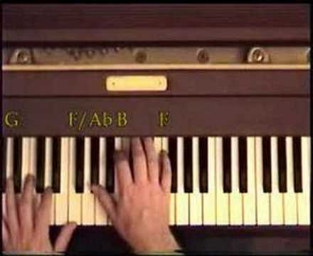 Comment jouer Michelle des Beatles au piano partie 1