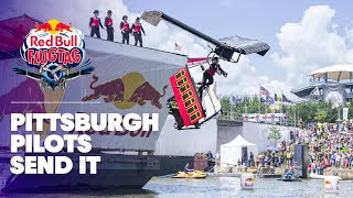 Pittsburgh 'Pilots' Send It at Red Bull Flugtag