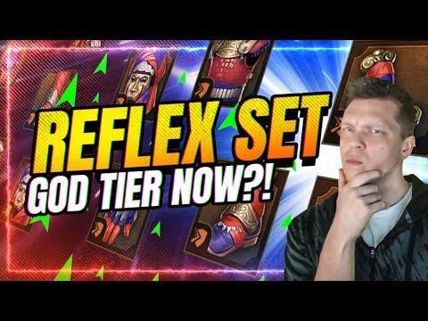 Reflex Set is GOD TIER Now! | RAID Shadow Legends