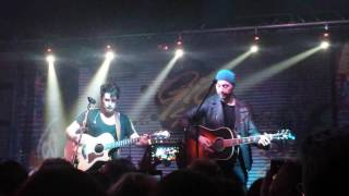 Giò Sada e Joe Bastianich - cover Johnny Cash_Ring of fire 18/12/2016 Milano,Serraglio