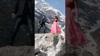 Lekha making videos khonsing Kro