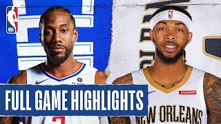 CLIPPERS at PELICANS   FULL GAME HIGHLIGHTS   January 18, 2020