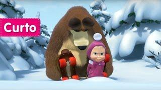 Masha e o Urso - Férias no Gelo (Vamos patinar, custe o que custar!)