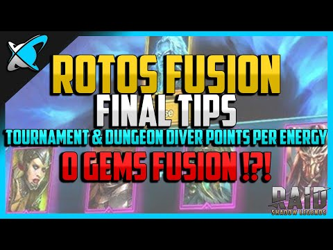 RAID: Shadow Legends | ROTOS FUSION FINAL TIPS | 4,500 Gems Giveaway is still on!