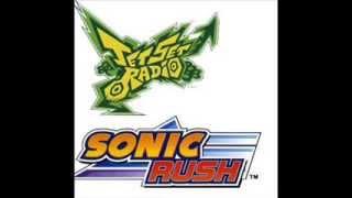Jet Set Radio & Sonic Rush Sample Set 2