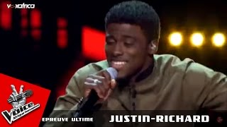 "Justin-Richard - ""Zouk la se sa ..."" Kassav | Epreuve ultime - The Voice Afrique francophone 2016"