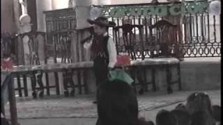 FLORENCIA ZACATECAS , CANTANDO EN LA PLAZA
