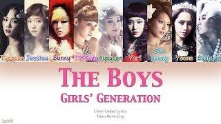 Girls' Generation (소녀시대) – The Boys (Color Coded Lyrics) [Han/Rom/Eng]