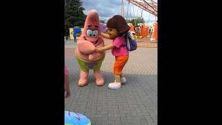 By movie park germany sponsbob,Patrick &dora